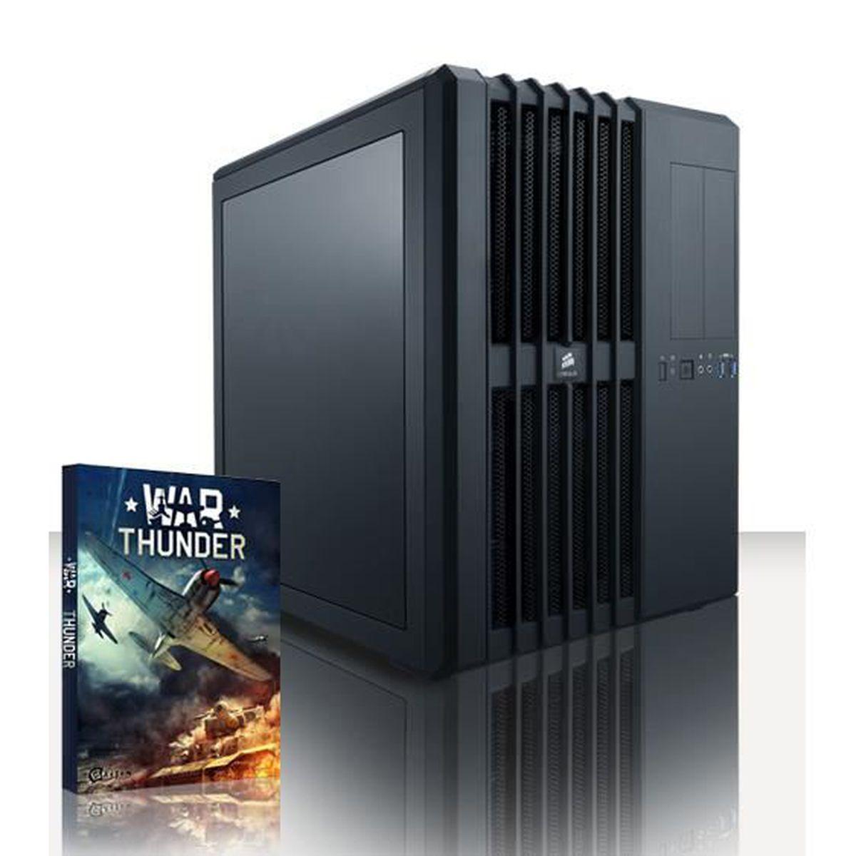 UNITÉ CENTRALE  VIBOX Legend 21 PC Gamer - Intel 8-Core, 2x GTX 10