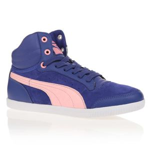 huge discount b4926 2ea6a BASKET PUMA Baskets Glyde Court - Enfant - Mixte - Bleu ...
