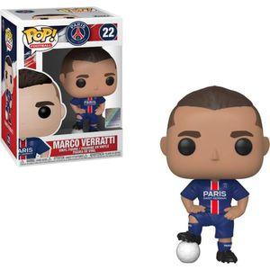 FIGURINE - PERSONNAGE Figurine Funko Pop! Football: Marco Veratti (PSG),