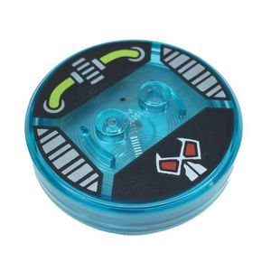 FIGURINE DE JEU Pièces Lego: Dimensions Toy Tag 4 X 4 X 2-3 avec 2