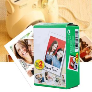 PAPIER PHOTO Film Fujifilm Instax White Edge 20 feuilles pour F