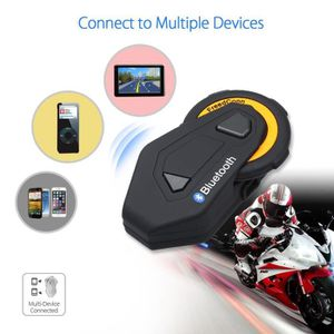 INTERCOM MOTO BOBLOV T-Max 1500M BT Moto Casque Interphone Inter