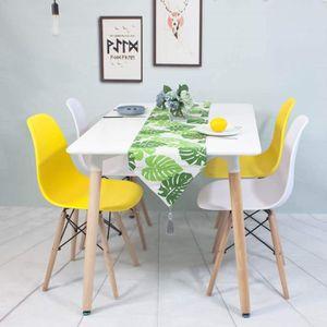 TABLE À MANGER SEULE Table à Manger Extensible style Scandinave pour 4-