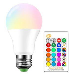 AMPOULE - LED 3W 5W 10W LED RVB Ampoules RVB Ampoules colorées d