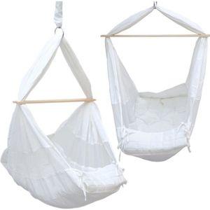 BALANCELLE DuneDesign Hamac pour Bébé 100% Coton blanc | avec