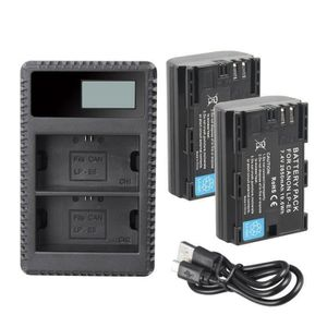 CHARGEUR APP. PHOTO Deux batteries de rechange et chargeur LP-E6, LP-E