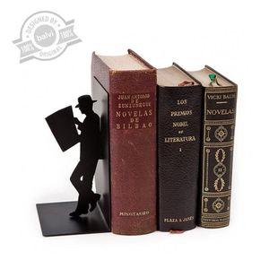 Balvi Serre-Livres The Reader Couleur Blanc D/écoratif M/étal