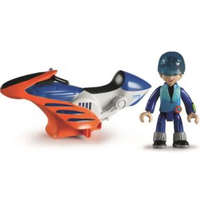 FIGURINE - PERSONNAGE MILES Hoverbike Miles