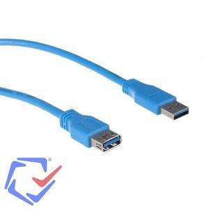 CÂBLE INFORMATIQUE Maclean MCTV-585 Câble USB 3.0 AM-AF 3m souris, cl