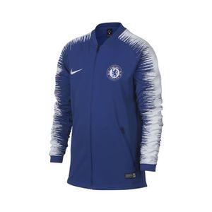 TENUE DE FOOTBALL Veste Chelsea Anthem Bleu Junior