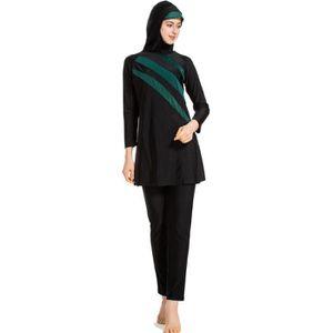 MAILLOT DE BAIN Grande taille Burkini Femme Musulman Swimwear Bath