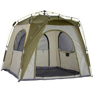 10 personne 3 pièce cabine tente avec côté entrées Camping Outdoor Shelter Randonnée