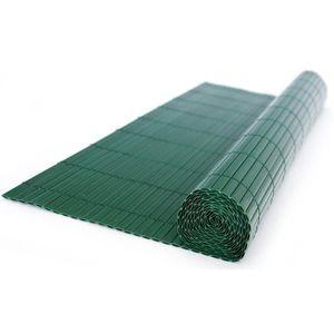 CLÔTURE - GRILLAGE Canisse en PVC, coloris vert - Dim : 90 x 300 cm