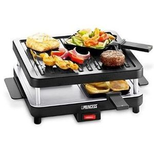 raclette grill 4 personnes princess 162344 achat. Black Bedroom Furniture Sets. Home Design Ideas