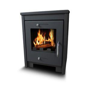 POÊLE À BOIS Poele à bois max 12KW - Warmtech