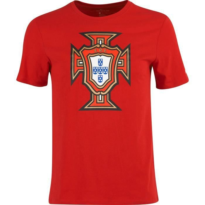 NIKE T-shirt de Football Cristiano FPF - Homme - Rouge