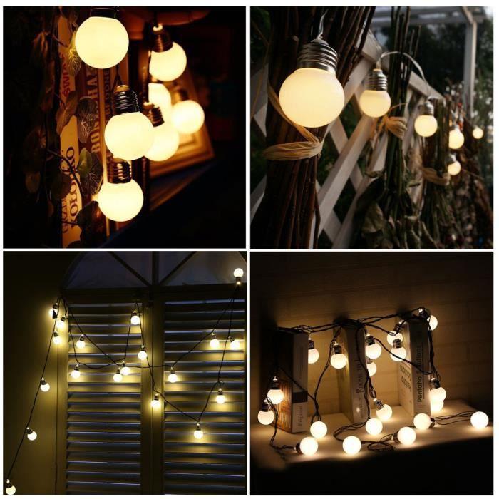 BANDE LED - RUBAN LED 4M 10LED solaire de chaîne ampoule cordes lampe perles de mariage Fée décor_u3090 Jeffrey 2938 zl