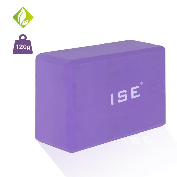 Briques Yoga,Blocs de Yoga Block Pilates Bio en Mousse EVA Haute Densité Écologique Léger Confortable Antidérapant,Pour Amateurs déb