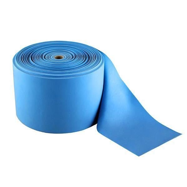 HMSPORT - Bande élastique en rouleau fitness 50 cm - 100% PVC - Résistance 16kg - Bandes d'exercice entraînement - Yoga Crossfit -