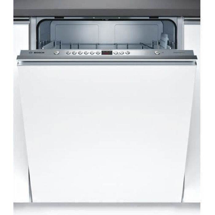 Lave-vaisselle tout intégrable BOSCH SMV46AX00E - 12 couverts - Moteur induction - Largeur 60 cm - 48 dB
