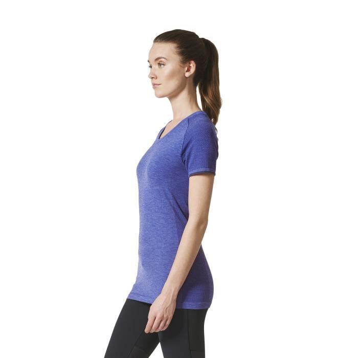 T-shirt femme adidas Primeknit Wool