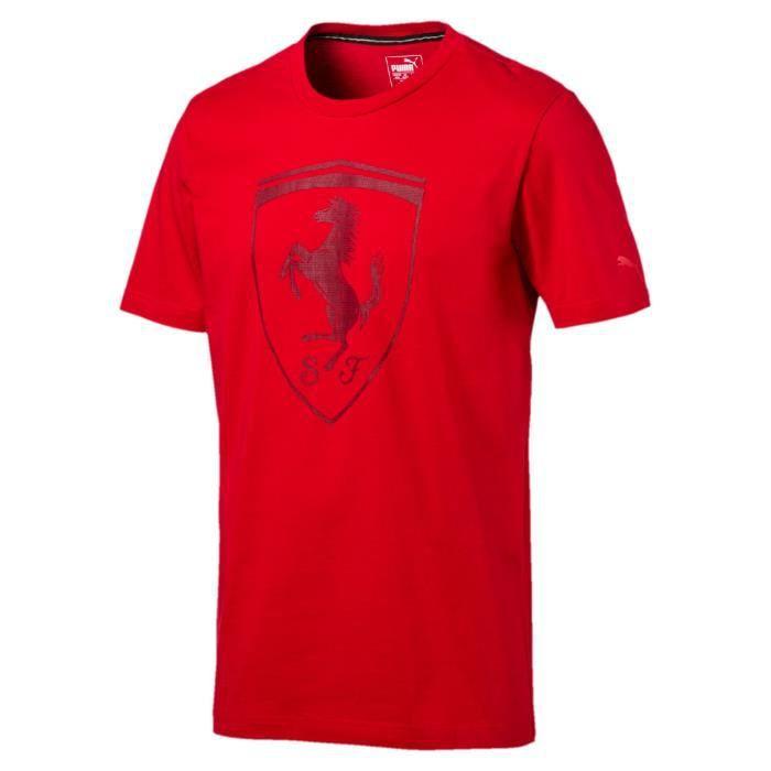 T-shirt Puma Ferrari big shield