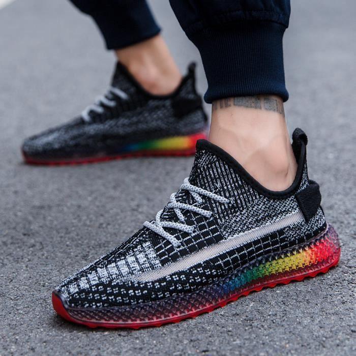 chaussures de running homme de Marque respirabilité Sport Chaussures résistance à l'abrasion chaussures de running homme