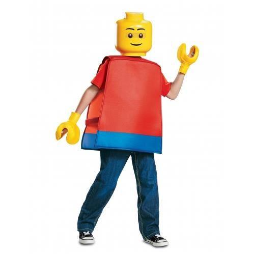 Déguisement bonhomme LEGO® enfant - Taille Unique