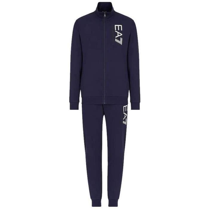 EA Costume Homme Train Visibilité T-Suit Logo Bleu M