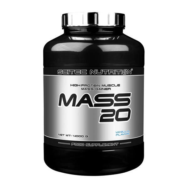 Mass 20 4Kg Scitec Nutrition VANILLE - Proteine Gainer