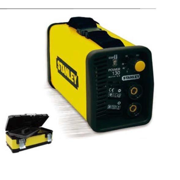 STANLEY Poste à souder Inverter 120A POWER130 + boîte à outils STANLEY