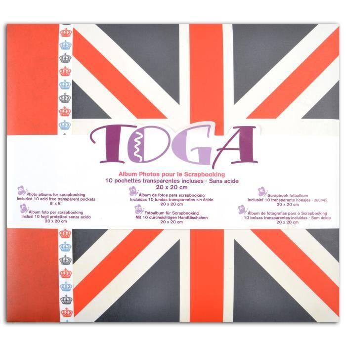 TOGA Album Londres - 20x20 cm