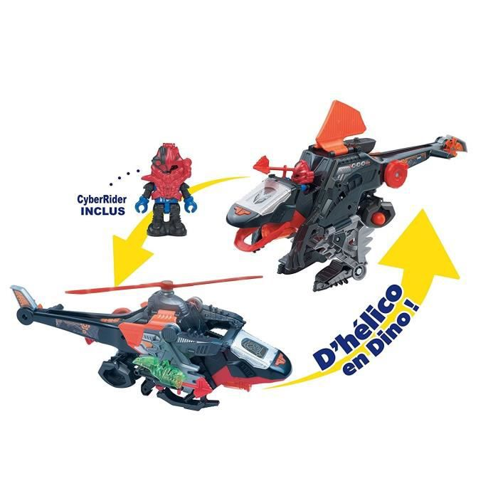 VTECH Switch&Go Dinos Riders - Helico Spinosoïd Plasma