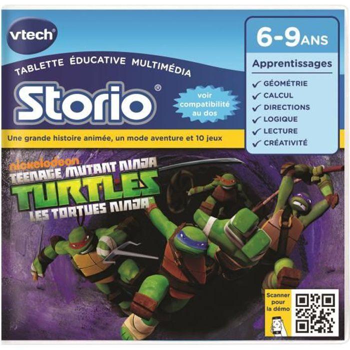 VTECH - Jeu Éducatif Storio - Les Tortues Ninja