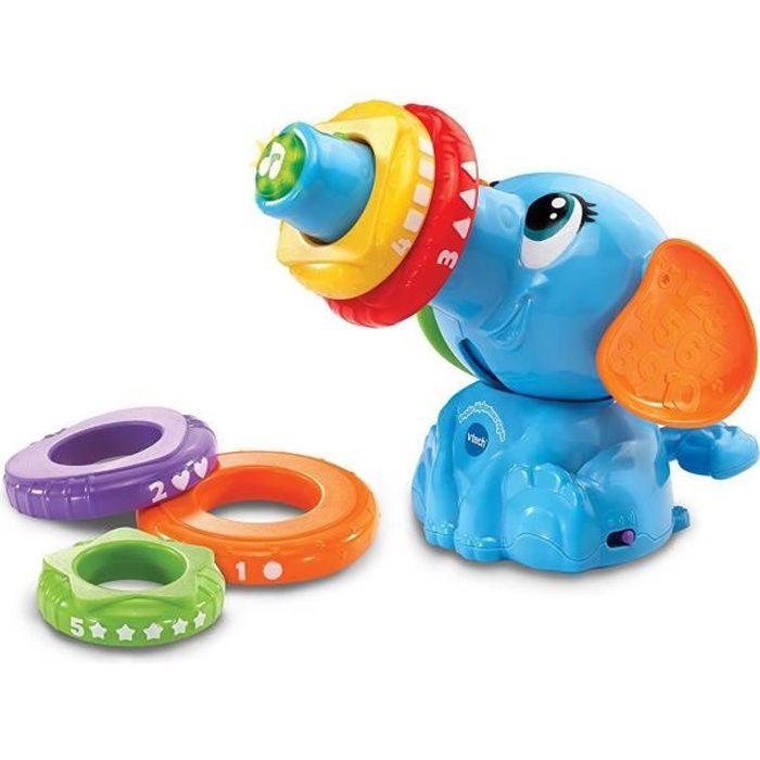 VTECH - Empilo éléphanteau rigolo