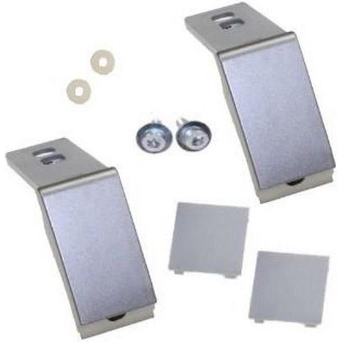 Kit de reparation fixation poignée inox 9590180 (143927-10670) - Réfrigérateur, congélateur - LIEBHERR (13473)