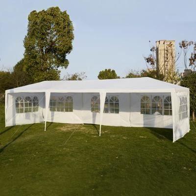 Tonnelle de Jardin Tente Réception Pavillon de Jardin en ...