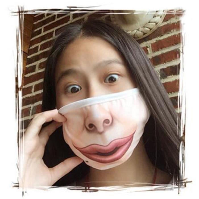 Unisexe Femme Fun Anime Drole Expression Emotionnelle Anti Poussiere Masque Chaud Zjh81018889c Achat Vente Masque Medical Unisexe Femme Fun Anime Drole Cdiscount