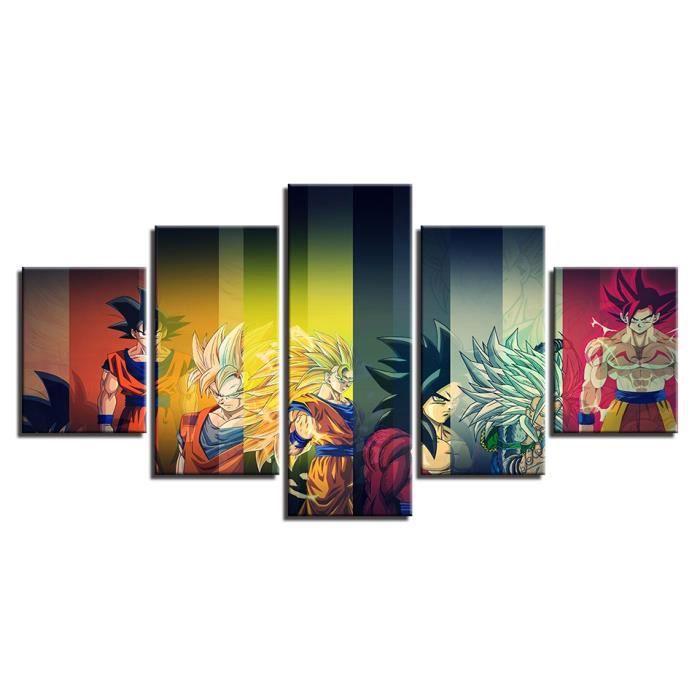 Peintures sur Toile 30x50cm sans Cadre Dragon Ball Z Shenron Affiche d/écorative Salon Affiches Chambre Peinture