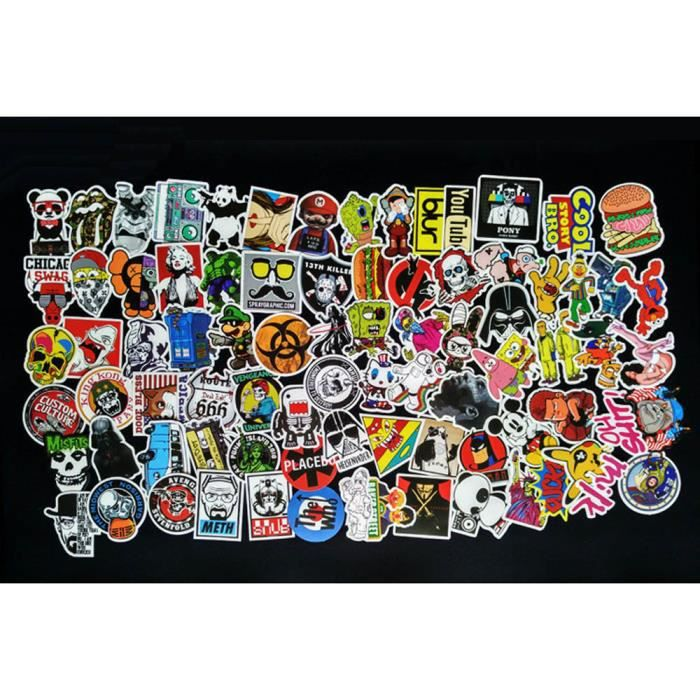 Autocollants moto achat vente autocollants moto pas for Stickers monster high pour chambre