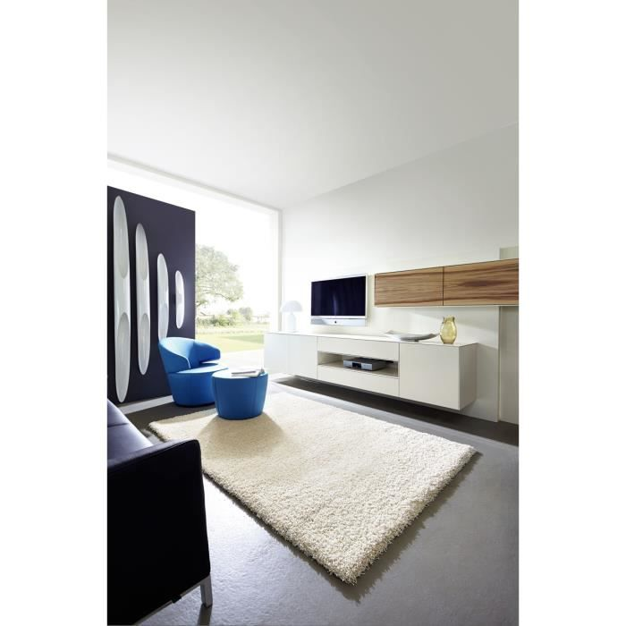 tapis salon como cr me achat vente tapis cdiscount. Black Bedroom Furniture Sets. Home Design Ideas