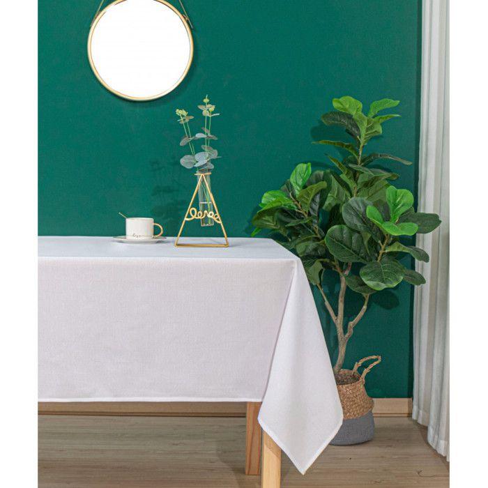 """Carrée blanche fait main 100/% polyester Nappe Brodé avec Perles 36/"""""""