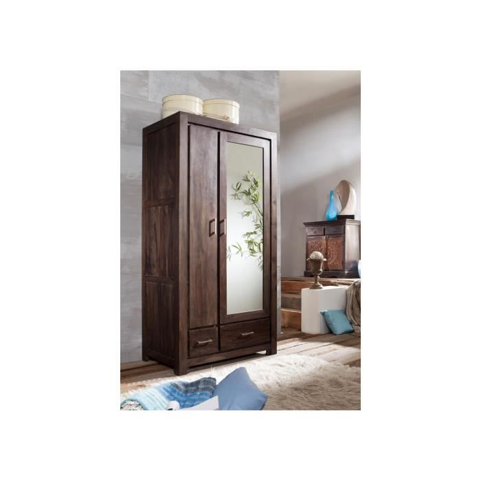 armoire penderie bois massif trendy armoire design porte coulissante bois dedans chambre a. Black Bedroom Furniture Sets. Home Design Ideas