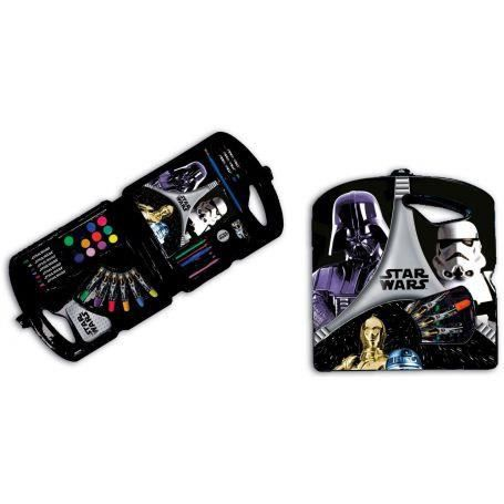 Mallette de coloriage star wars 40pcs achat vente pack criture mallette de coloriage star - Coloriage star wars 3 ...