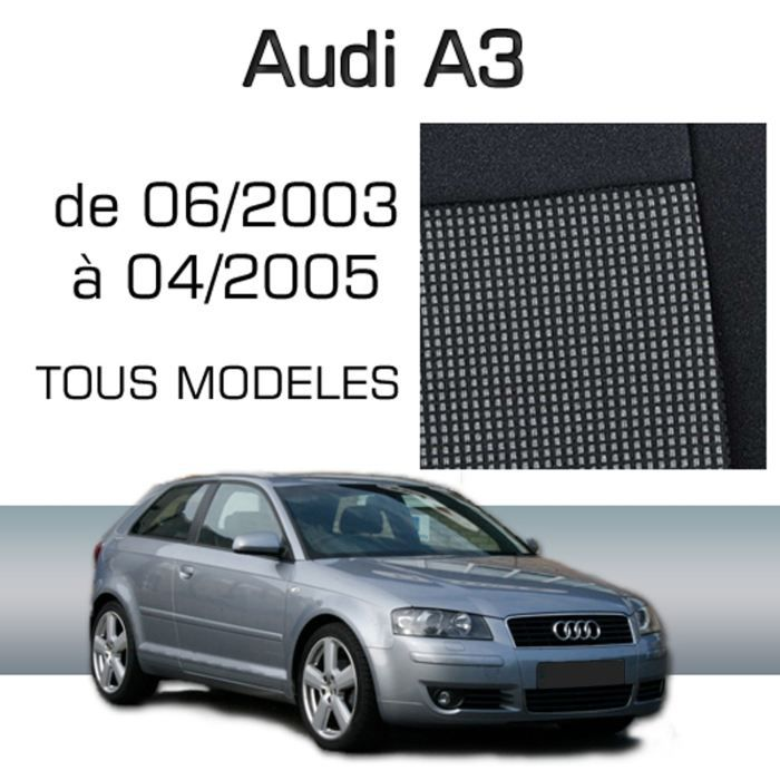 housse sur mesure audi a3 06 03 04 05 achat vente housse de si ge housse sur mesure audi. Black Bedroom Furniture Sets. Home Design Ideas