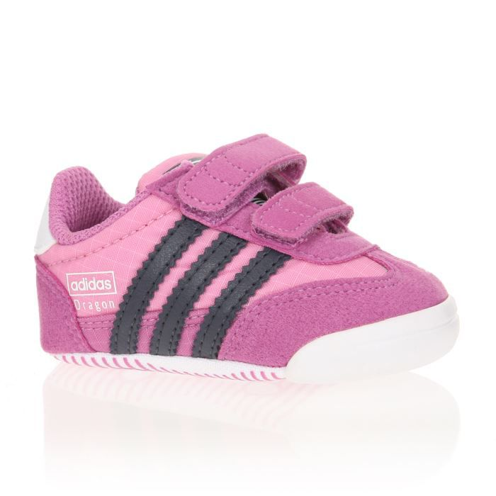 adidas originals baskets dragon crib b b fille rose achat vente basket cdiscount. Black Bedroom Furniture Sets. Home Design Ideas