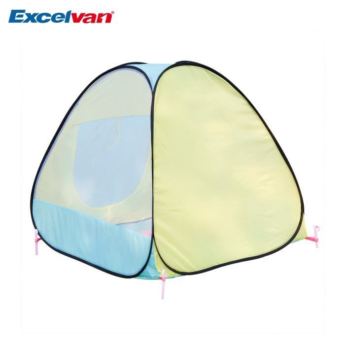 Excelvan ventilation tente de maison enfant tente de jeu pop up couleureux vi - Maison pop up enfant ...