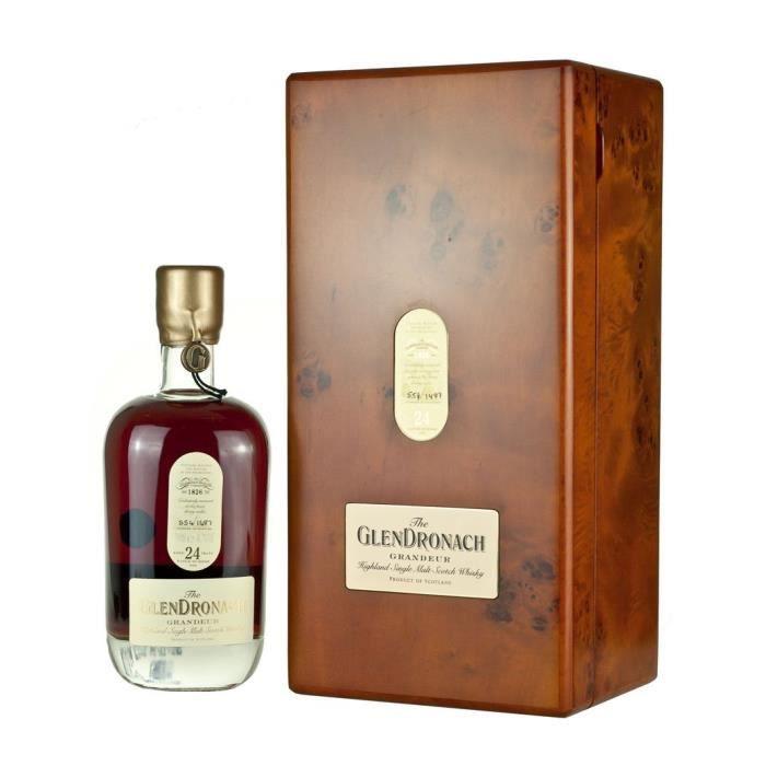 WHISKY BOURBON SCOTCH GlenDronach Speyside 24 Ans Grandeur Batch 9 Singl