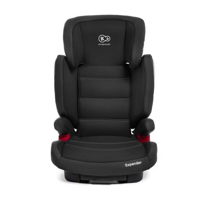 isofix expander si ge auto 15 36 kg et rehausseur groupe ii et iii volutif noir achat vente. Black Bedroom Furniture Sets. Home Design Ideas