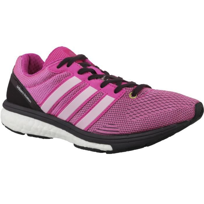 low priced 2536d 90873 Adidas Adizero Boston Boost 5 TSF W S78214 chaussures de running pour femme  Rose